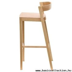 Basic Collection, Drive barstool #woodenbarstool #wood #ashwood #conractfurniture