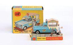 Corgi Toys Waall's ice cream van