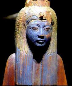 Statue of Queen Ahmose–Nefertari - New Kingdom, Dynasty 18, reign of Ahmose, ca. 1550–1525 B.C Egyptian
