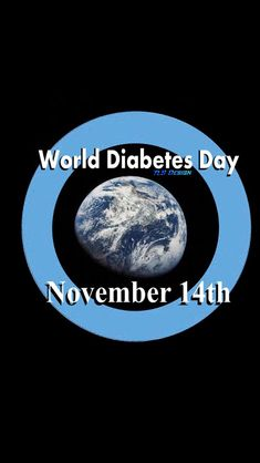 World Diabetes day is November 14th and helps spread Diabetes Awareness throughout the month of November. Every Friday is Blue Friday in show of support. Help spread awareness about this common disease that affects millions.