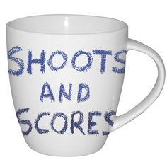 #JamieOliver #Mug #ShootsandScores http://www.palmerstores.com/product/jamie-oliver-cheeky-mug-shoots-and-scores/2123/
