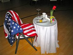 Honoring the Absent, A POW and MIA Empty Chair Ceremony