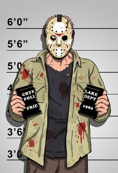 Mr. Voorhees by ~b-maze on deviantART #horror #f13