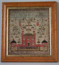 1821-House-Sampler-by-Mary-Hassack