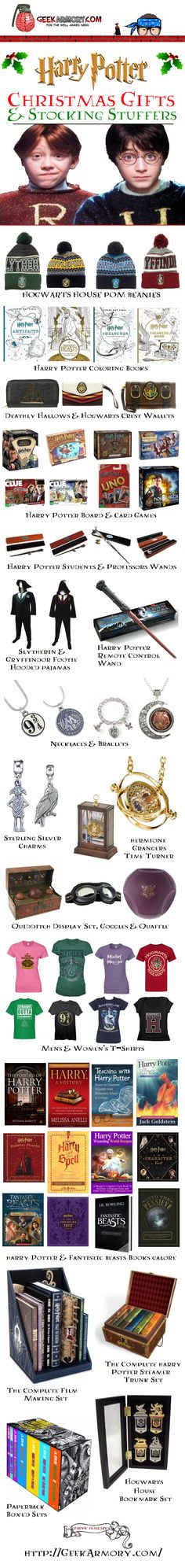 Harry Potter Christmas Gifts and Stocking Stuffers