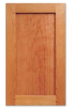 Cabinet refacing: Paint grade poplar frame with MDF panel, $15.55 sf