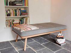 DIY Small Sofa Daybed : Vissbiz