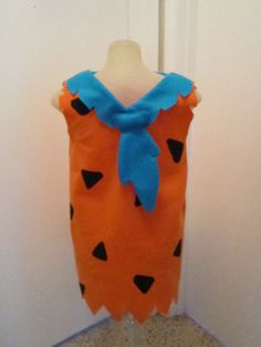 Fred Flinstone Costume Fred Flinston Halloween costume Will Make any Child's Size. $40.00, via Etsy.