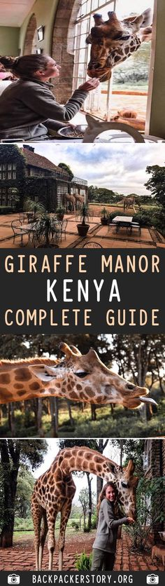 Giraffe Manor is located in Langata, Nairobi, Kenya. It is about 45 minutes from the Nairobi airport, and just outside the Kenya Travel, Africa Travel, Usa Travel, Oh The Places You'll Go, Places To Visit, Travel Guides, Travel Tips, African Colors, Funny Travel