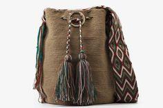 Bolso Artesanal - Susuu Wayuu camel