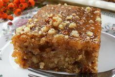 Makedonski kolač s orasima i sirupom Gourmet Recipes, Sweet Recipes, Baking Recipes, Cookie Recipes, Dessert Recipes, Bosnian Recipes, Croatian Recipes, Posne Torte, Rodjendanske Torte