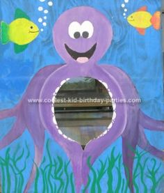 Under the Sea Dance Decorations   Coolest Under The Sea Party Ideas for Kids