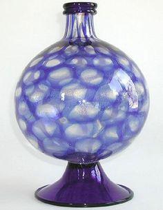1930s AVEM Murrine Lens Vase