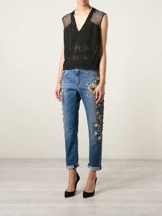 Dolce & Gabbana Calça Jeans Boyfriend - Julian Fashion - Farfetch.com