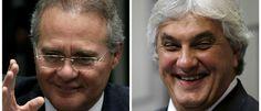 Noticias ao Minuto - Renan e Delcídio usaram serviço 'antigrampo' do Senado, diz coluna