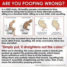 The Right Way To Poop (and Right Way To Find The Best Deals)!