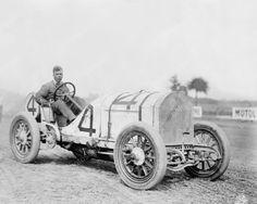 Race Car # 4 June 1912 Vintage 8x10 Reprint Of Old Photo