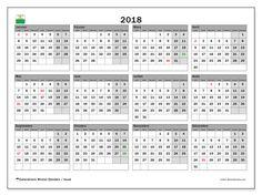 Calendrier 2018, avec les jours fériés du Canton de Vaud. Calendrier pour le mois à imprimer gratuit.