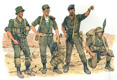 • Sniper Giva'ati Brigade  • Captain Golani Infantry Brigade  • Major Giva'ati Infantry Brigade  • Sayeret Golani Reconaissance Infantryman  Ronald Volstad