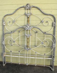 iron bed - Antique Iron Bed Frame