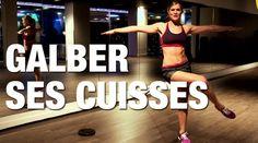 Comment muscler ses cuisses ? Ce n'est pas sans effort que Jennifer Aniston et Cameron Diaz arborent sur le tapis rouge une paire de jambes fuselées et toniques. Et oui, ça se travaille! Des cuisses galbées, c'est avant tout des exercices qui développent les muscles fins dans les zones cibles : intérieur et extérieur des cuisses. Suivez Lucile et à vous les cuisses musclées et dessinées!