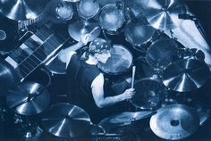 Neil Peart Roll the Bones drums