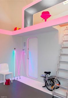 lights    -source: http://bhousedesain.com/interior-design/modern-interior-design-in-colorful-neon.html