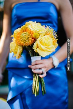 yellow bouquet | VIA #WEDDINGPINS.NET