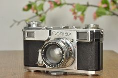 1939 Zeiss Ikon Contax II, Freshly Serviced #ZeissIkon