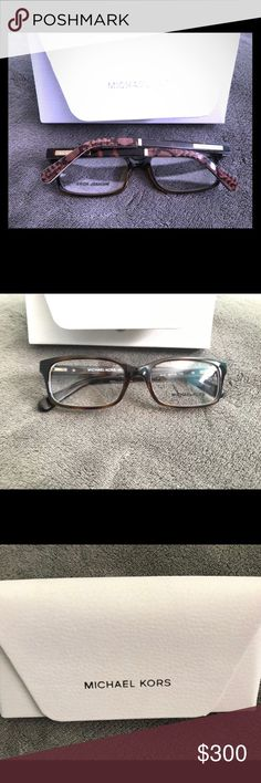 524239f49cc Vision glasses Beautiful small square vision glasses. Gold and brown color.  Never been used