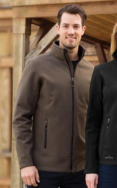 Eddie Bauer Rugged Rip Stop Softshell Jacket Line Texture, Softshell, Brand It, Wattpad, Eddie Bauer, Logo Branding, Winter Jackets, Leather Jacket, Stylish