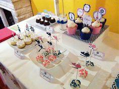 SD Eventos: LISTOS PARA ZARPAR! Mesa dulce temática Náutico niña Nautic girl party Sweet table  Mini tortas temáticas