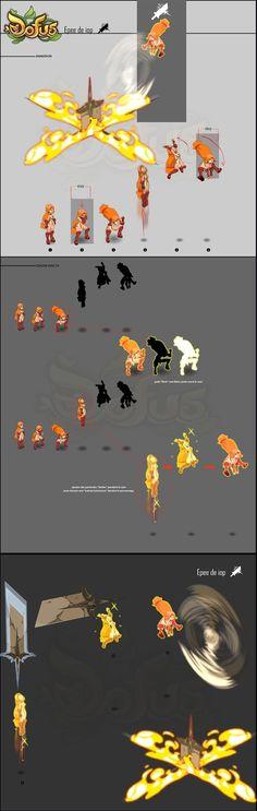 RUMO: Iop - Fiches d'intentions d'animation des sorts