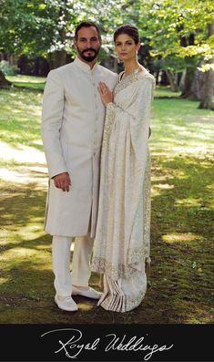 Kendra Spears and Prince Rahim Aga Khan, 2013