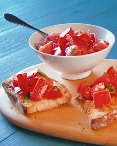 Bruschetta Pomodoro - Martha Stewart Recipes