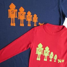 Personalised Dad And Child T Shirt Set - whatsnew