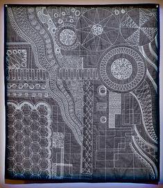 How Many Different Quilting Designs Does this Quilt Have? - TheQuiltShow.com