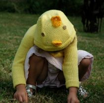 Organic Cotton Chick Sweater for Kids and Babies Animal Sweater, Sweater Making, Make Your Mark, Farm Animals, Baby Knitting, Knitted Hats, Organic Cotton, Winter Hats, Teddy Bear