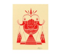 Untitled 8  Riso Print by HarryDiaz on Etsy, $15.00