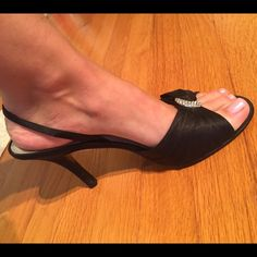 Karen Scott Black Heels Karen Scott • Size: 8 • Color: black • Staten • Worn one time • Make an offer!  Karen Scott Shoes Heels