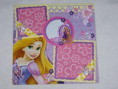 Disney Princess Tangled Rapunzel 12x12 by kariskraftkorner3301