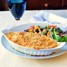 Some may balk at the suggestion of fish & cheese together in this cod au gratin but with truly fresh cod, this dish is delectable; a Newfoundland favourite.