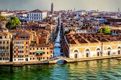 Bridges Of Venice - photograph by Maria Coulson fineartamerica.com #venice #cityscape #wallart