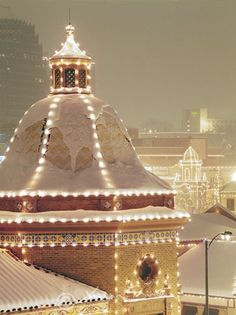 Oh the plaza at Christmas time <3  I loved going to view these when I was a child!