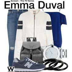 Inspired by Willa Fitzgerald as Emma Duval on Scream The TV Series.