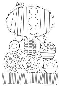 Pikku Kakkosen tulostettavat värityskuvat. Free printable pattern. lasten   askartelu   pääsiäinen   käsityöt   koti   värittäminen   DIY ideas   kid crafts   Easter   home   colouring  Pikku Kakkonen