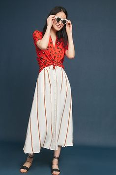 009314aacb2 Slide View  5  Colloquial Blouse Dress Outfits