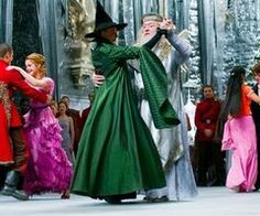 McGonagall & Dumbledore ~The Yule Ball ~ Harry Potter and the Goblet of Fire