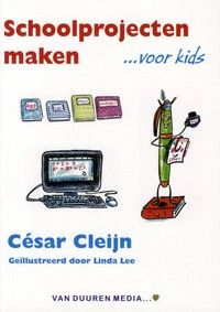 Schoolprojecten maken ...voor kids is een werkboek, voorzien van veel voorbeelden en illustraties, waarin kinderen leren hoe ze zelf projecten en werkstukken voor school kunnen maken | Kosten (2014): Werkboek € 19,95. | Schoolsupport