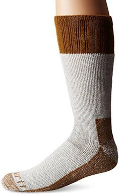I just read a great review on this Carhartt Men's Extremes Cold Weather Boot Socks. You can get all the details here http://bridgerguide.com/carhartt-mens-extremes-cold-weather-boot-socks/. Please repin this. :)